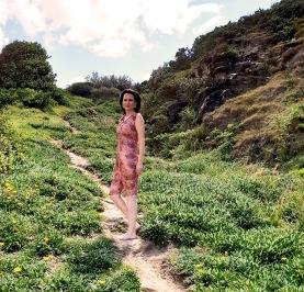 Jo Pink sequinned dress 01